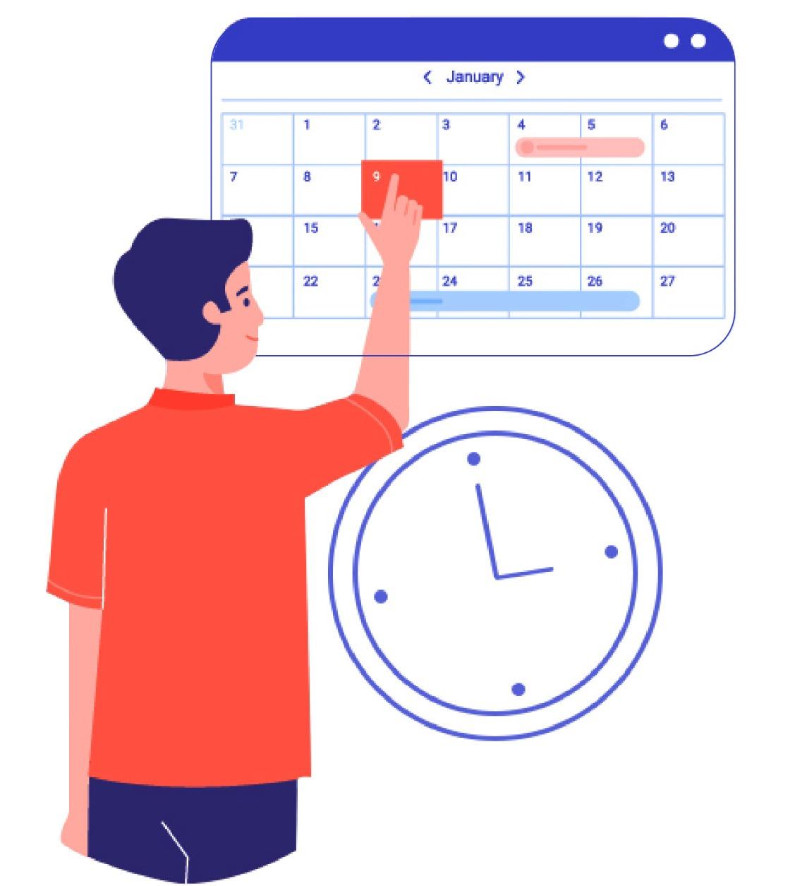 Calendar : Patient & MR Appointment