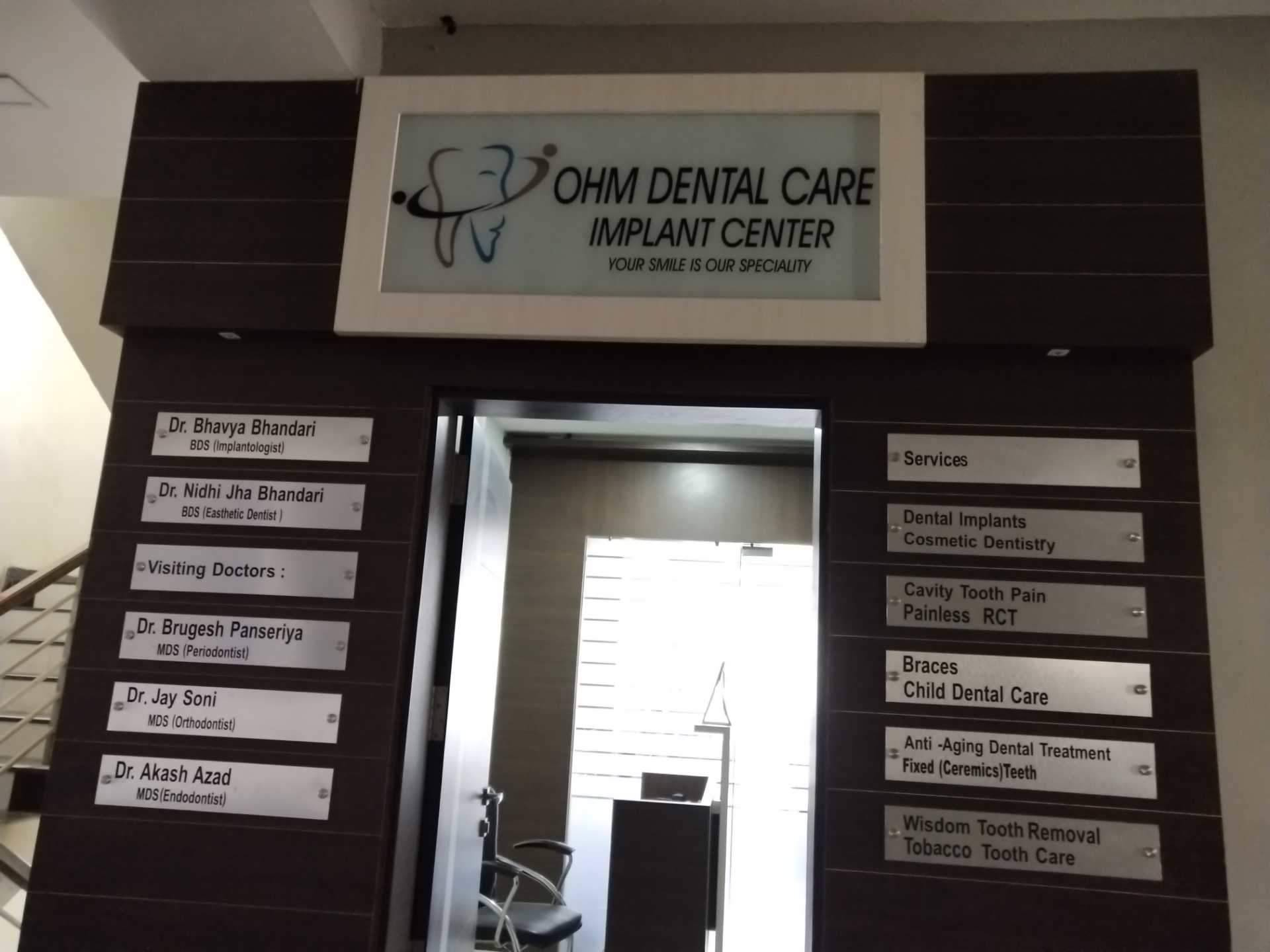 Ohm Dental Care and Implant Centre in Ahmedabad